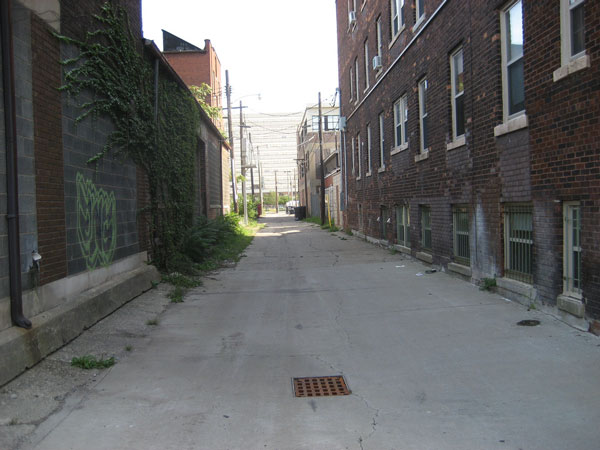 Alley-before