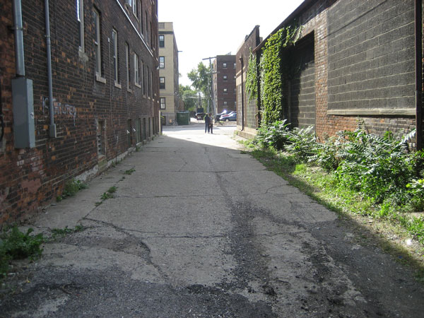 Alley-toward-second