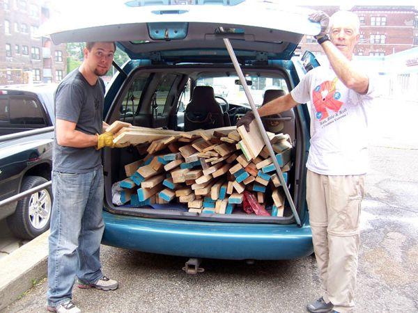 Used-wood
