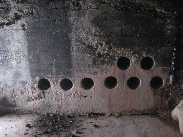 Earth tube holes