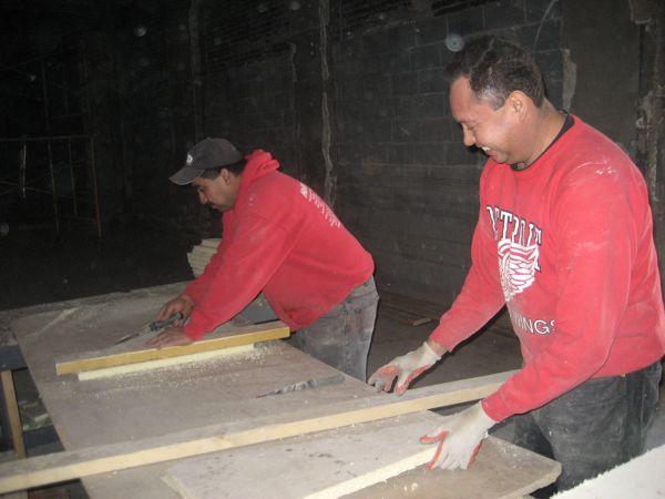 Cutting insulation