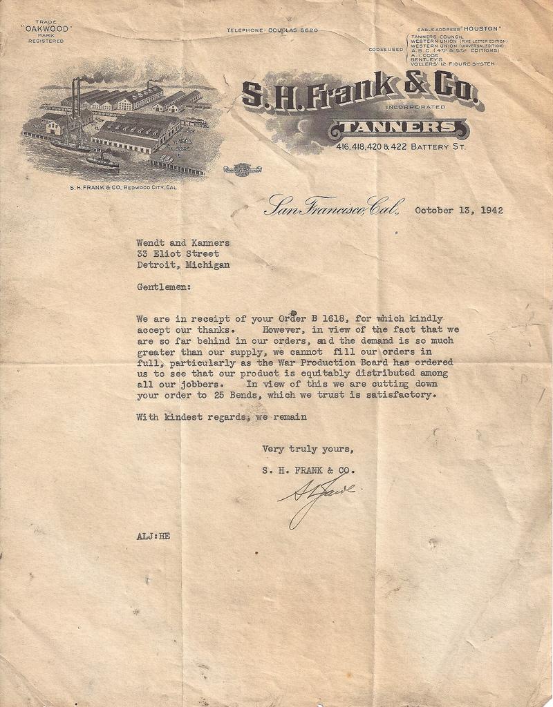 Wendt kanners letter
