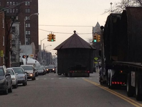 Water tank heading down cass