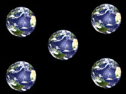5 earths